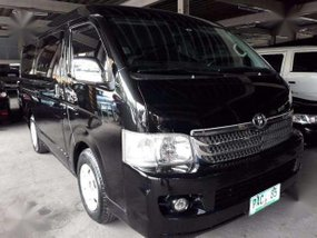 2010 Toyota Hi ACE Super Gia AT Diesel Black for sale