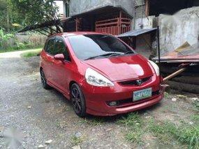 red Honda Fit!!!