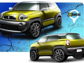 The all-new Suzuki crossover concept is almost similar to the FJ Cruiser