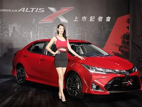 All-new Toyota Corolla Altis X 2017 premiered in Taiwan at P1,307,216