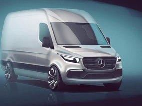 Admire the Mercedes-Benz Sprinter 2018 in teaser photo