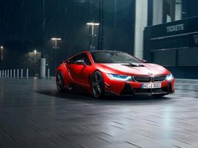 The fastest BMW i8 laps the Nurburgring in 8 mins, 19.8 secs