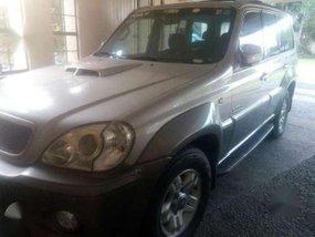 Hyundai Terracan AT Silver SUV For Sale