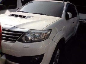 2013 Fortuner 4X2 G Automatic Pearl White