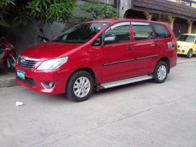 2013 Innova 2.5E DSL Automatic RED Toyota 688K Only