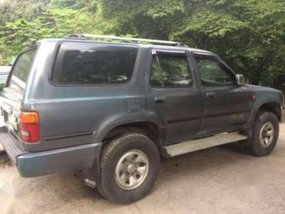 Toyota 4Runner 1996 MT Blue SUV For Sale