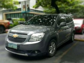 Chevrolet Orlando 2012 AT Gray For Sale