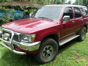 Toyota Hilux Surf MT Red SUV For Sale