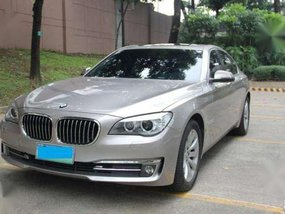 2013 BMW 730d AT Silver Sedan For Sale