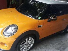 Mini Cooper 2015 AT Yellow Coupe For Sale