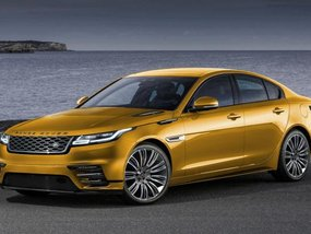 Land Rover Road Rover Velar concept rendered