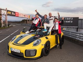 Porsche 911 GT2 RS 2018 breaks Nurburging record in 6 mins 47.3 secs