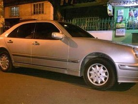 Mercedes Benz E240 2000 AT Silver For Sale