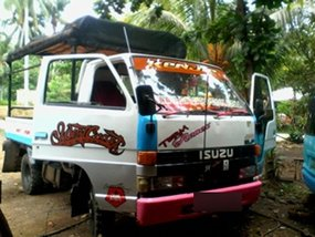 Isuzu Elf 4WD Dropside Truck for Sale