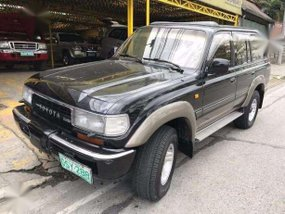 Toyota Land Cruiser 4x4 1990 AT Black For Sale