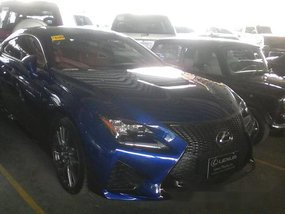 For sale Lexus RC F 2017