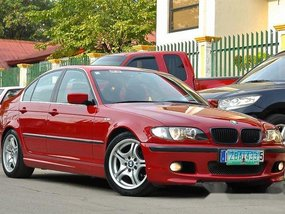 BMW 318i 2005 RED FOR SALE