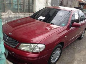 Nissan Exalta 2002 MT Red For Sale