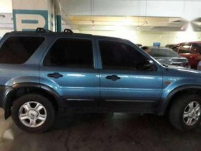 2002 Ford Escape MT Blue SUV For Sale