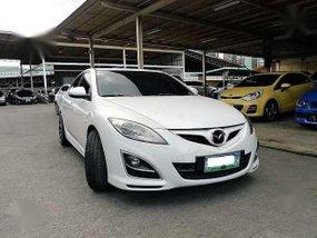 2010 Mazda 6 sedan white for sale
