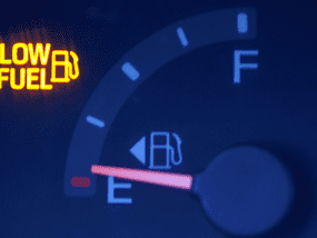 Which parts are most heavily affected by draining your car's fuel tank?