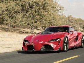 Appreciate Toyota Supra 2018 in rendering