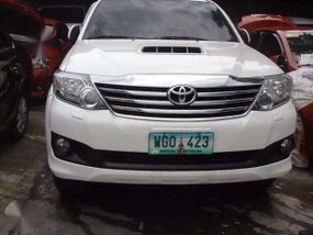Fortuner Pearl White Automatic Toyota 4X2 VS