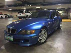 BMW Z3 M Coupe Z3M Estoril Blue S50 3.2L 321HP M3 E36