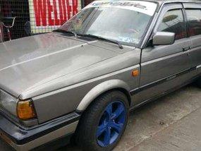 Nissan Sentra 1989 MT Gray Sedan For Sale