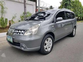 2009 Nissan Grand Livina AT Gray For Sale