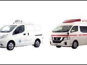 Nissan to bring NV350 Paramedic and e-NV200 Fridge concepts to Tokyo