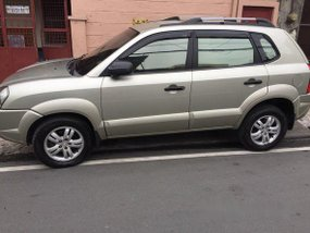 Hyundai Tucson 2008 Beige for sale