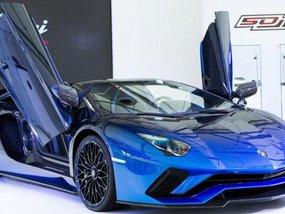 Lamborghini Aventador S Roadster 50th Anniversary Japan editions introduced at Lamborghini Day