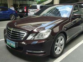 2011  Mercedes Benz E300 AT Brown For Sale