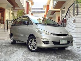 Toyota Previa 2003 VVT-i AT Silver For Sale