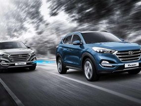 New Hyundai Tucson Sport Concept on display at 2017 SEMA show