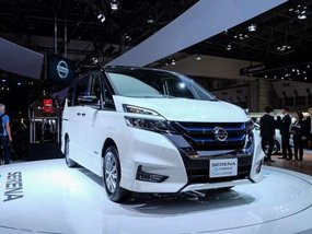 Nissan Serena e-Power unveiled at 2017 Tokyo Motor Show