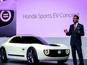 Honda Sports EV Concept bombarded at 2017 Tokyo Motor Show