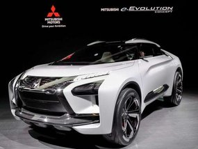 Mitsubishi e-Evolution Concept launched at Tokyo Motor Show 2017