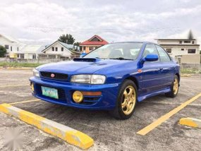 1996 Subaru Impreza WRX STi MT Blue For Sale