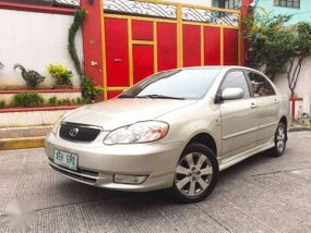 Toyota Corolla Altis G 2002 AT Beige For Sale