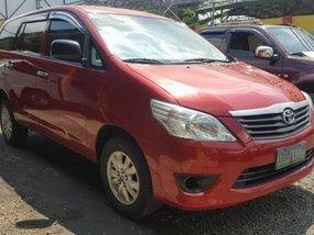 For sale 2012 Toyota innova e