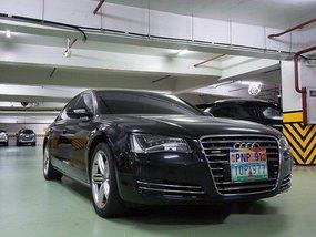 Audi A8 2012 black for sale