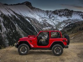 Images of the next-gen Jeep Wrangler 2018 revealed ahead of official launch