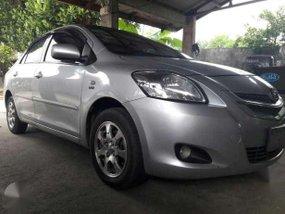 2009 Toyota Vios E silver color for sale