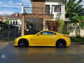 Nissan 350z Fairlady Z Z33 2003 Yellow For Sale