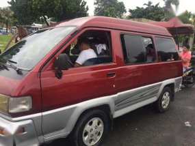 Toyota Liteace 1998 MT Red Van For Sale