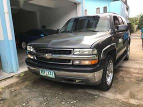 Chevrolet Tahoe 2002 4.8 AT Gray For Sale