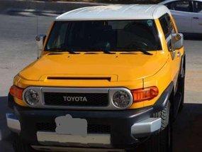 Toyota FJ Cruiser 2008 MT Yellow For Sale