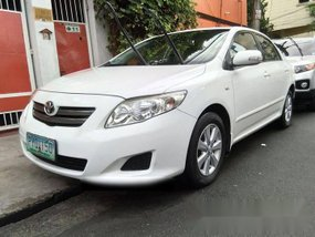 Well-maintained 2010 Toyota Altis E for sale